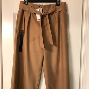 Cropped trousers, great w/boots